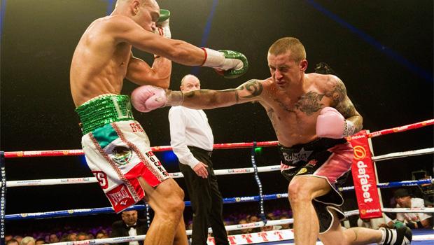 Ricky Burns v Raymundo Beltran boxing