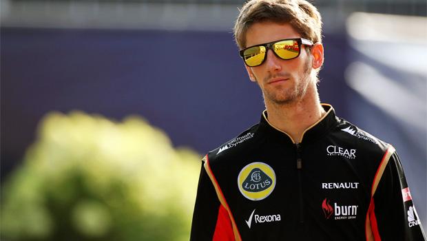 Romain Grosjean Singapore GP