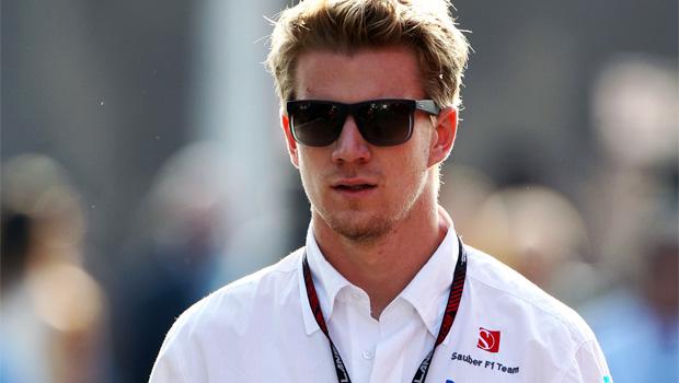 Sauber driver Nico Hulkenberg italian gp 2013