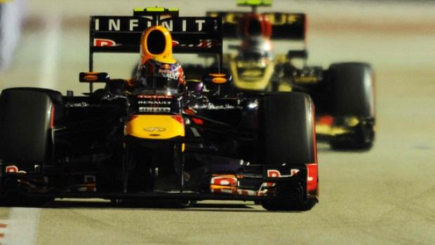 Singapore GP Mark Webber