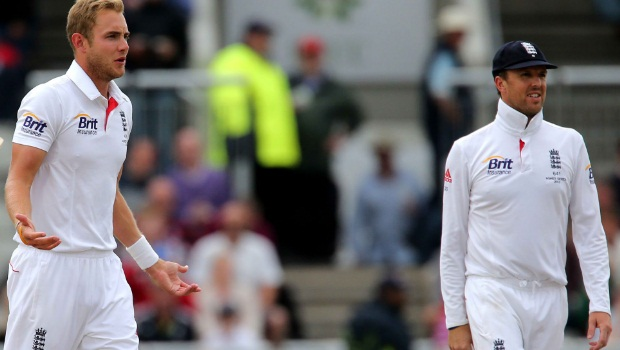 Stuart Broad and Graeme Swann cricket