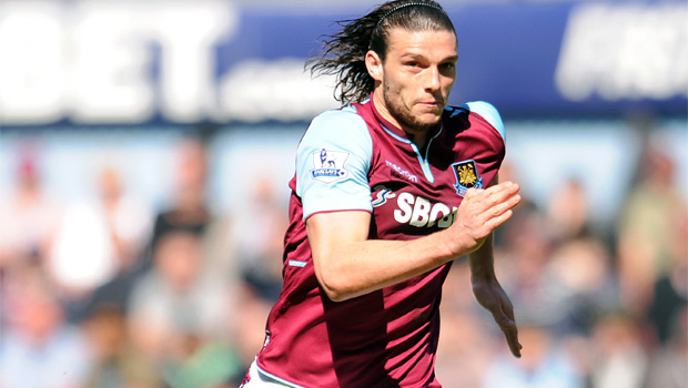 West Ham United and England striker Andy Carroll