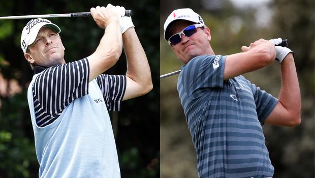 Zach Johnson and Steve Stricker USA team Presidents Cup