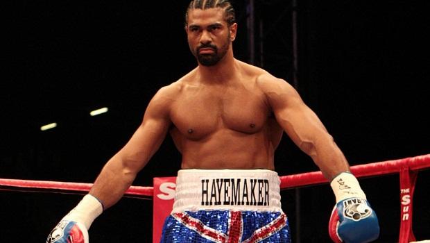 boxing David Haye and Tyson Fury