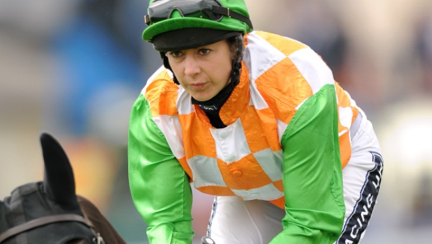 female jockey Hayley Turner