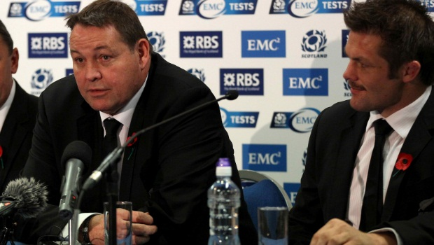 All Blacks Steve Hansen coach