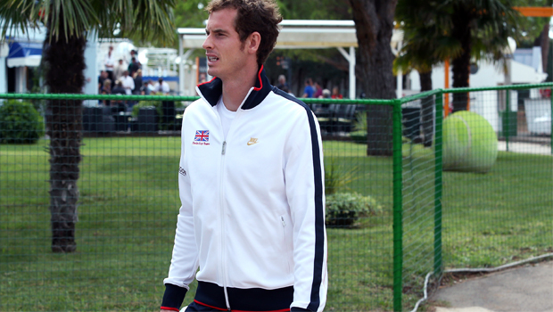 Andy Murray out on atp tour