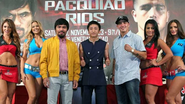 Boxing Manny Pacquiao v Brandon Rios