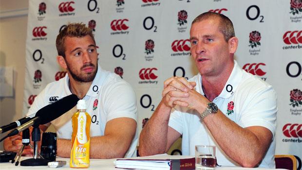 England head coach Stuart Lancaster rugby