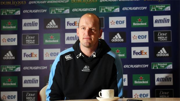 Glasgow Rugby coach Gregor Townsend