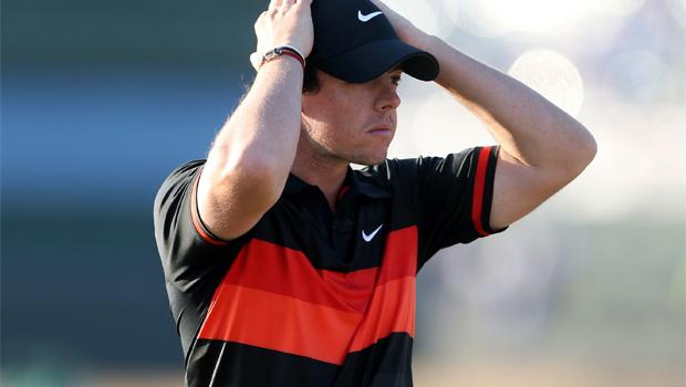 Golf Rory McIlroy struggled 2013