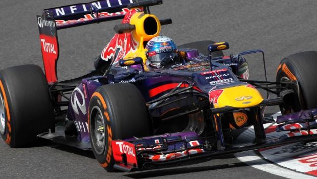 Japanese Grand Prix Sebastian Vettel practice