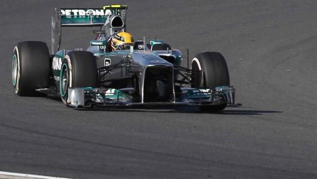 Korean GP Lewis Hamilton second