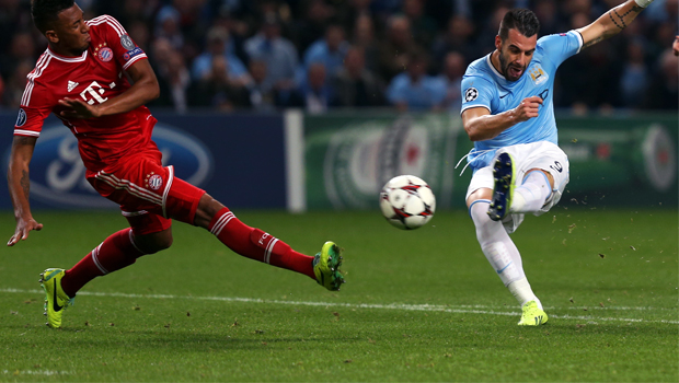 Manchester City v Bayern Munich champions league