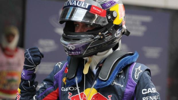 Red Bull Sebastian Vettel India