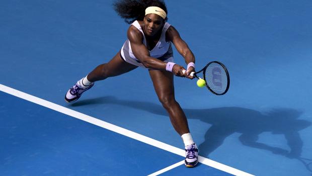 Serena Williams v Francesca Schiavone China Open