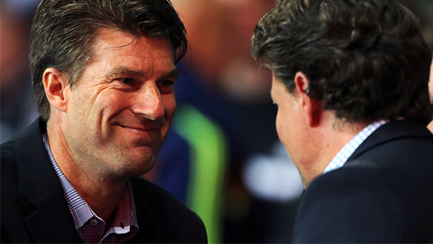 Swansea boss Michael Laudrup on st gallen