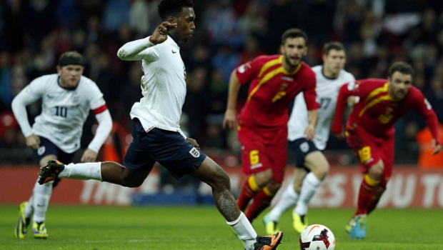World Cup 2014 qualifier England v montenegro