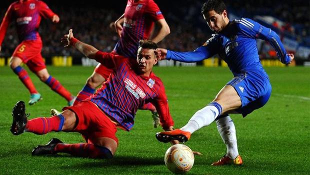chelsea v Steaua champions league
