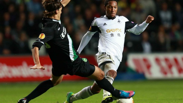 swansea city v st Gallen