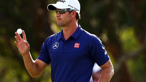 Adam Scott Australian Open