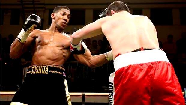 Anthony Joshua v Hrvoje Kisicek boxing
