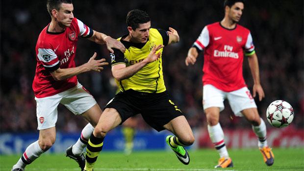 Arsenal v Borussia Dortmund Champions League