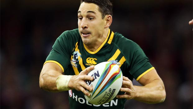 Billy Slater Australia Rugby league world Cup