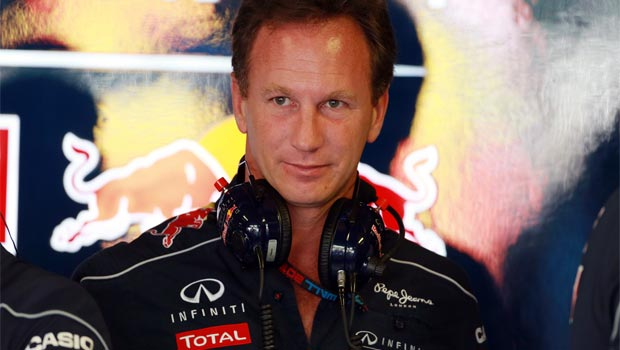 Christian Horner Red Bull Team Principal