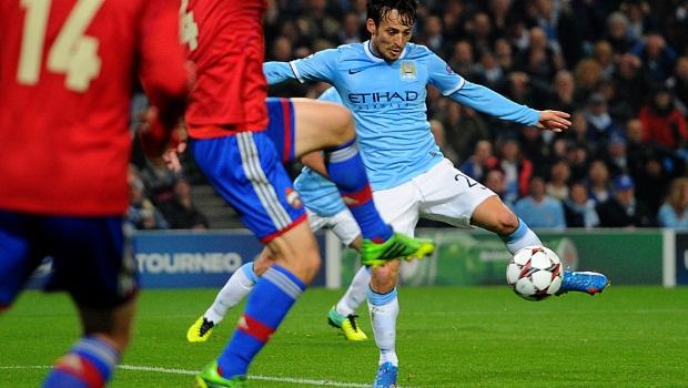 David Silva Manchester City injury