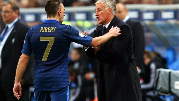 Didier Deschamps France Coach world cup