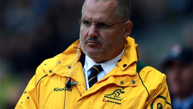 Ewen McKenzie australia rugby union coach