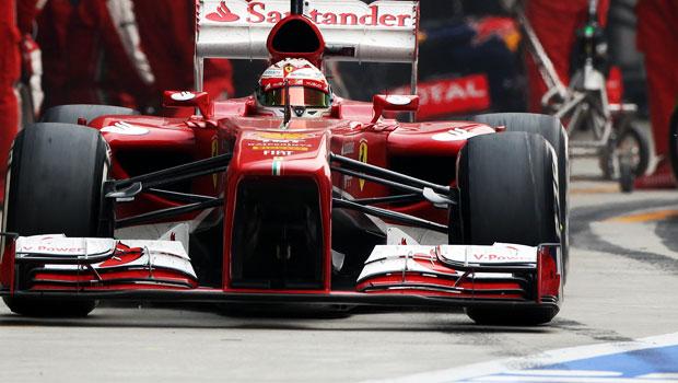 Fernando Alonso Ferrari Us grand prix