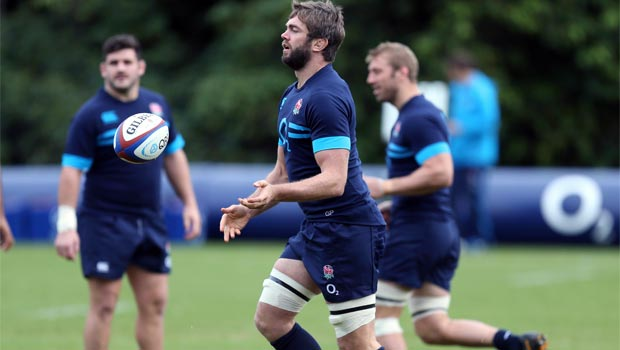 Geoff Parling England Rugby Union