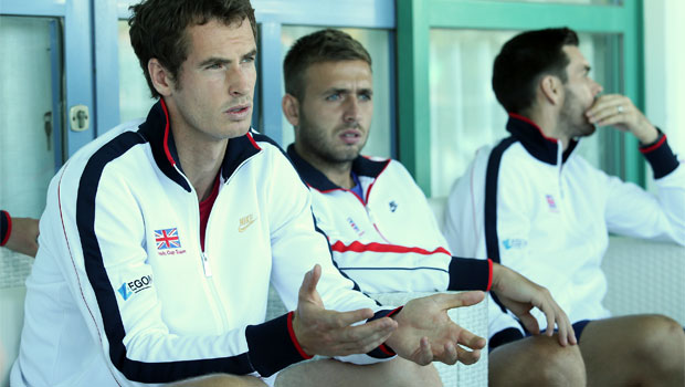 Great Britain Davis Cup in san diego