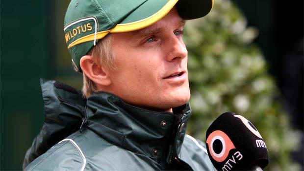 Heikki Kovalainen Lotus US GP