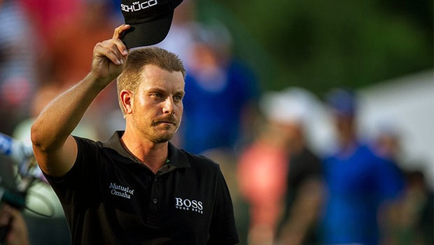 Henrik Stenson race to dubai golf
