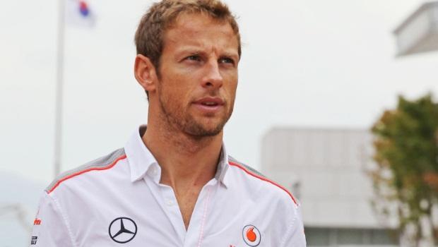Jenson Button McLaren Formula One