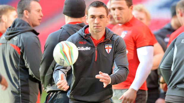 Kevin Sinfield England captain Rugby League World Cup