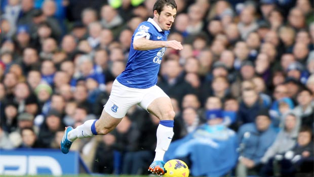 Leighton Baines Everton and England defender