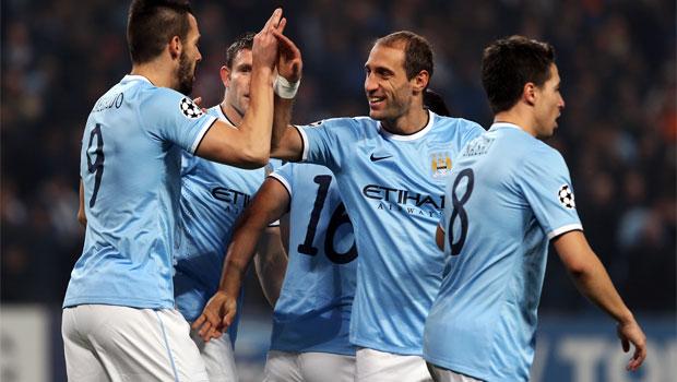 Manchester City v CSKA Moscow Champions League