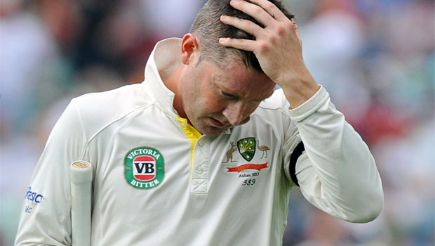Michael Clarke Australian captain ashes