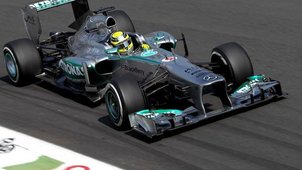 Nico Rosberg Mercedes Brazilian Grand Prix