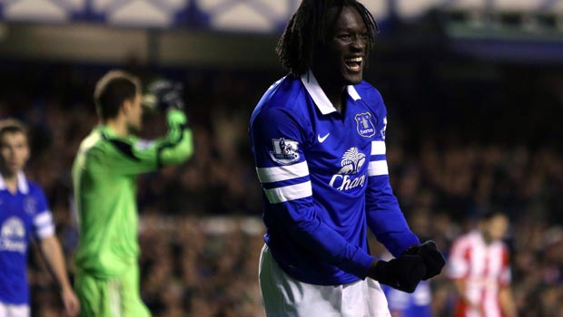Romelu Lukaku Everton on loan