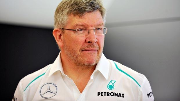 Ross Brawn Mercedes team principal