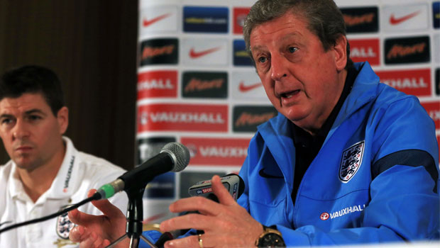 Roy Hodgson England v Germany international friendly