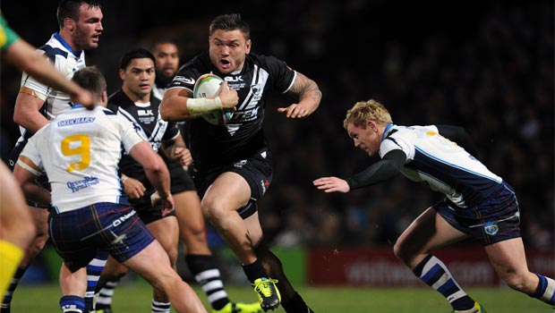 Scotland v New Zealand rugby league world cup