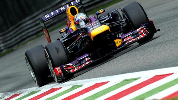 Sebastian Vettel Red Bull United States Grand Prix