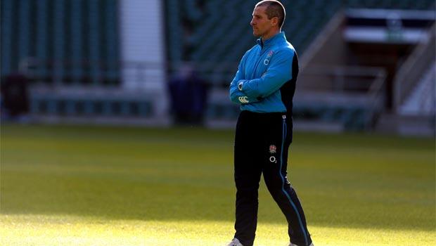 Stuart Lancaster England Rugby Union Coach