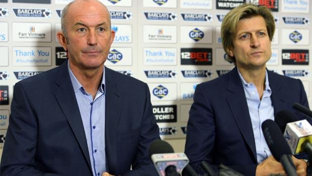 Tony Pulis New Crystal Palace boss